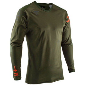 Leatt DBX 5.0 All Mountain Maillot de cyclisme Homme, forest